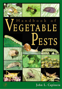 Book Cover: Handbook of vegetable pests