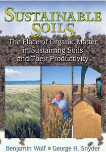 Book Cover: Sustainable soils: The place of organic matter in sustaining soils and their productivity