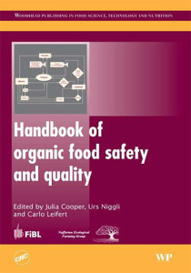 Book Cover: Handbook of organic food safety and quality