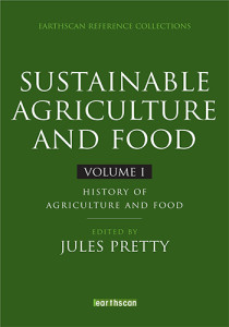 Book Cover: Sustainable agriculture and food