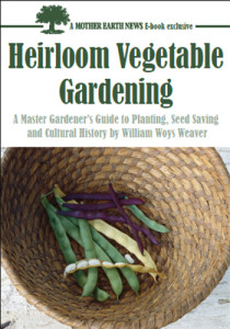 Book Cover: Heirloom vegetable gardening