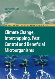 Book Cover: Climate change, intercropping, pest control and beneficial microorganisms