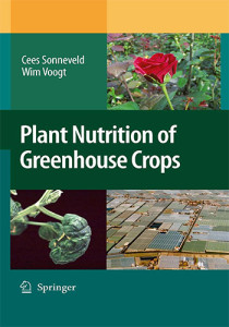 Book Cover: Plant nutrition of greenhouse crops