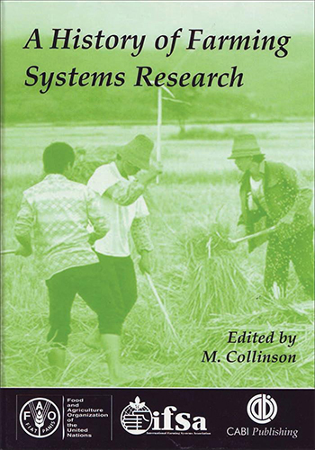 Book Cover: A history of farming system research