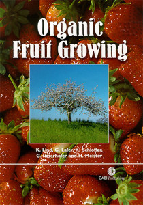 Book Cover: Organic fruit growing
