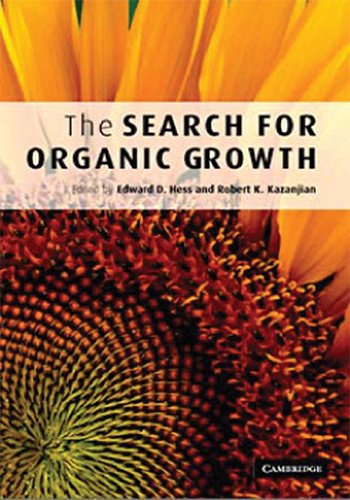 Book Cover: The search for organic growth