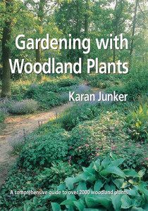 Book Cover: Gardening with woodland plants