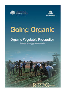 Book Cover: Going organic, organic vegetable production