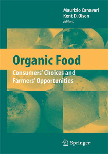 Book Cover: Organic food Consumers' choices and farmers' opportunities