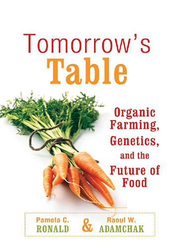 Book Cover: Tomorrow's table: Organic farming, genetics, and the future of food