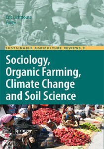 Book Cover: Sociology, organic farming, climate change and soil science