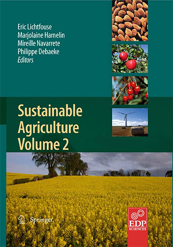 Book Cover: Sustainable agriculture volume 2