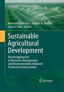 Book Cover: Sustainable agricultural development