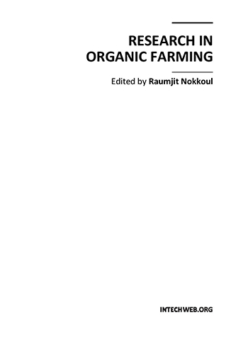 Book Cover: Research in organic farming